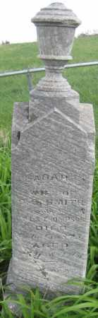 SMITH, SARAH - Saline County, Nebraska | SARAH SMITH - Nebraska Gravestone Photos
