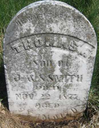 SMITH, THOMAS H. - Saline County, Nebraska | THOMAS H. SMITH - Nebraska Gravestone Photos