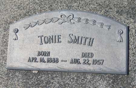 SMITH, TONIE - Saline County, Nebraska | TONIE SMITH - Nebraska Gravestone Photos