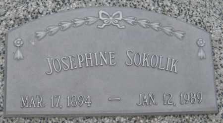SOKOLIK, JOSEPHINE - Saline County, Nebraska   JOSEPHINE SOKOLIK - Nebraska Gravestone Photos