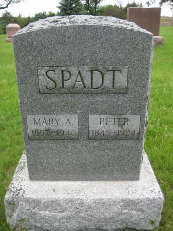 SPADT, PETER - Saline County, Nebraska   PETER SPADT - Nebraska Gravestone Photos