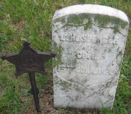 SPENCER, L. H. - Saline County, Nebraska | L. H. SPENCER - Nebraska Gravestone Photos