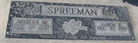 SIMS SPREEMAN, MARLEA M. - Saline County, Nebraska | MARLEA M. SIMS SPREEMAN - Nebraska Gravestone Photos