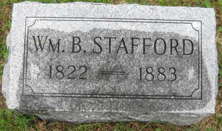 STAFFORD, WILLIAM B. - Saline County, Nebraska | WILLIAM B. STAFFORD - Nebraska Gravestone Photos