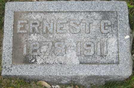 STALEY, ERNEST G. - Saline County, Nebraska   ERNEST G. STALEY - Nebraska Gravestone Photos