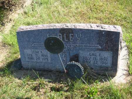 STALEY, LENA A. - Saline County, Nebraska | LENA A. STALEY - Nebraska Gravestone Photos