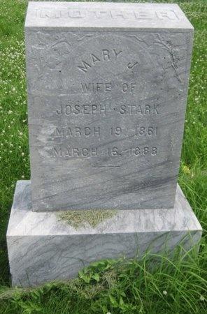 WILD STARK, MARY J. - Saline County, Nebraska   MARY J. WILD STARK - Nebraska Gravestone Photos