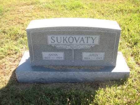 SUKOVATY, JOHN - Saline County, Nebraska | JOHN SUKOVATY - Nebraska Gravestone Photos