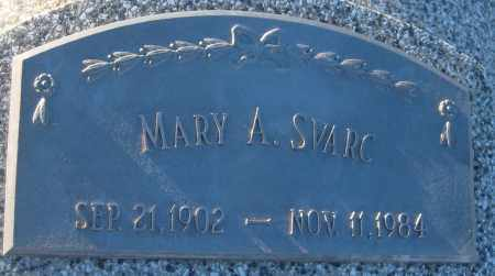 KOHEL SVARC, MARY A. - Saline County, Nebraska   MARY A. KOHEL SVARC - Nebraska Gravestone Photos