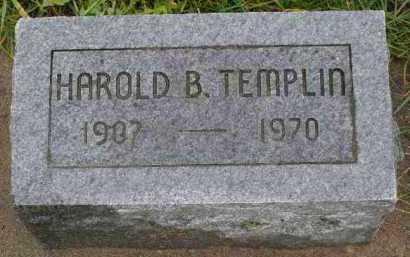 TEMPLIN, HAROLD - Saline County, Nebraska | HAROLD TEMPLIN - Nebraska Gravestone Photos