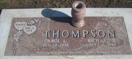 THOMPSON, CAROL L. - Saline County, Nebraska   CAROL L. THOMPSON - Nebraska Gravestone Photos