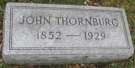 THORNBURG, JOHN - Saline County, Nebraska | JOHN THORNBURG - Nebraska Gravestone Photos