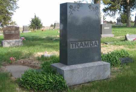TRAMBA, FAMILY LOT - Saline County, Nebraska   FAMILY LOT TRAMBA - Nebraska Gravestone Photos