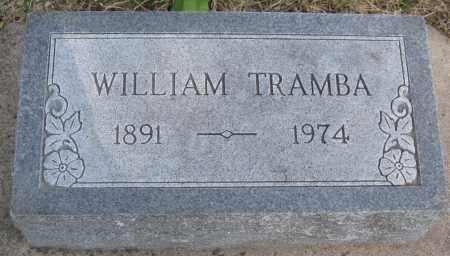 TRAMBA, WILLIAM - Saline County, Nebraska | WILLIAM TRAMBA - Nebraska Gravestone Photos