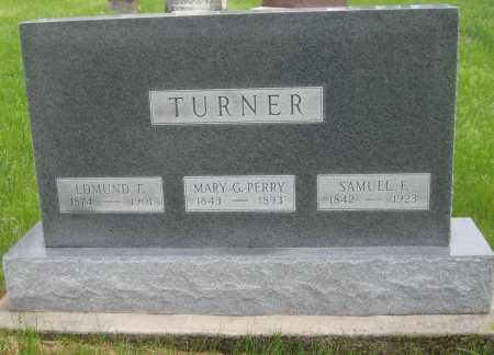 TURNER, EDMUND F. - Saline County, Nebraska | EDMUND F. TURNER - Nebraska Gravestone Photos