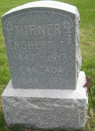 TURNER, CANZADA - Saline County, Nebraska | CANZADA TURNER - Nebraska Gravestone Photos