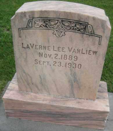 VAN LIEW, LAVERNE LEE - Saline County, Nebraska | LAVERNE LEE VAN LIEW - Nebraska Gravestone Photos