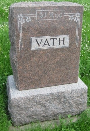 VATH, FAMILY MONUMENT - Saline County, Nebraska | FAMILY MONUMENT VATH - Nebraska Gravestone Photos