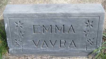 VAVRA, EMMA - Saline County, Nebraska | EMMA VAVRA - Nebraska Gravestone Photos