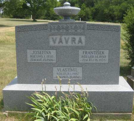 VAVRA, VLASTIMIL - Saline County, Nebraska | VLASTIMIL VAVRA - Nebraska Gravestone Photos