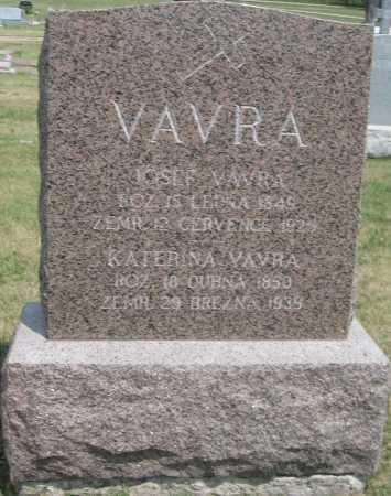 VAVRA, KATERINA - Saline County, Nebraska | KATERINA VAVRA - Nebraska Gravestone Photos