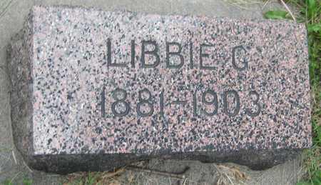 VAVRA, LIBBIE G. - Saline County, Nebraska   LIBBIE G. VAVRA - Nebraska Gravestone Photos