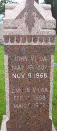 BELOHLAVY VILDA, EMILIA - Saline County, Nebraska | EMILIA BELOHLAVY VILDA - Nebraska Gravestone Photos