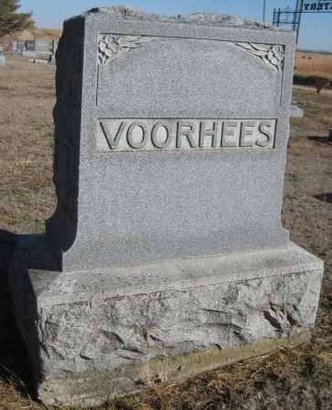 VOORHEES, FAMILY MONUMENT - Saline County, Nebraska   FAMILY MONUMENT VOORHEES - Nebraska Gravestone Photos