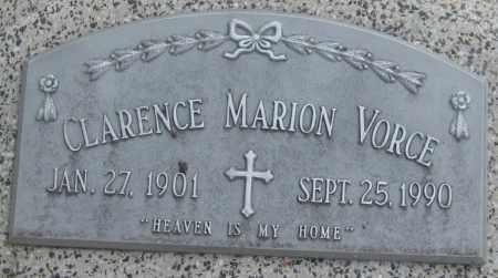 VORCE, CLARENCE MARION - Saline County, Nebraska | CLARENCE MARION VORCE - Nebraska Gravestone Photos