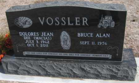 VOSSLER, BRUCE ALAN - Saline County, Nebraska | BRUCE ALAN VOSSLER - Nebraska Gravestone Photos