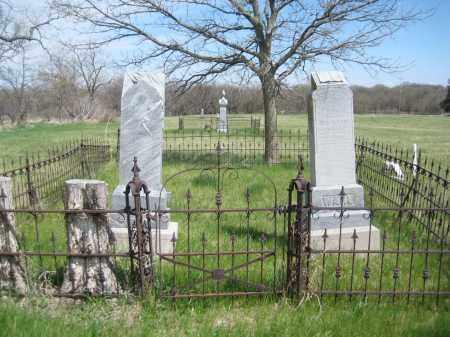 WAHL, FAMILY LOT - Saline County, Nebraska   FAMILY LOT WAHL - Nebraska Gravestone Photos