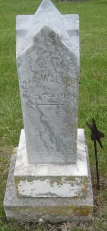 WALKER, D. H. - Saline County, Nebraska | D. H. WALKER - Nebraska Gravestone Photos