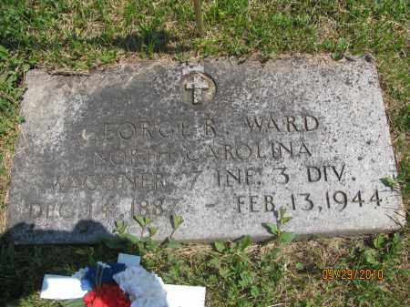 WARD, GEORGE RICHARD - Saline County, Nebraska | GEORGE RICHARD WARD - Nebraska Gravestone Photos