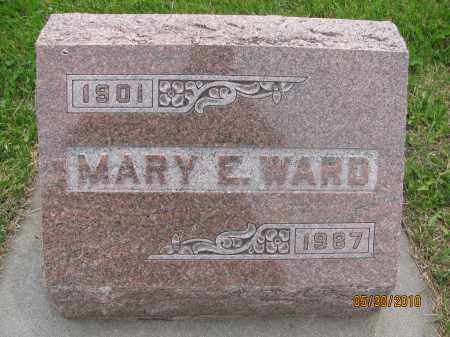 WARD, MARY E. - Saline County, Nebraska   MARY E. WARD - Nebraska Gravestone Photos