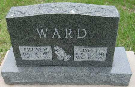 WARD, LYLE LESTER - Saline County, Nebraska | LYLE LESTER WARD - Nebraska Gravestone Photos