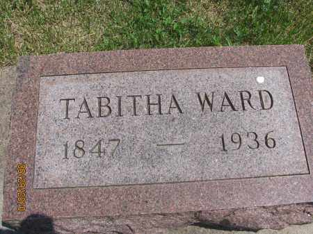 WARD, TABITHA - Saline County, Nebraska   TABITHA WARD - Nebraska Gravestone Photos
