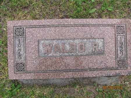 WARD, WALDO R. - Saline County, Nebraska | WALDO R. WARD - Nebraska Gravestone Photos
