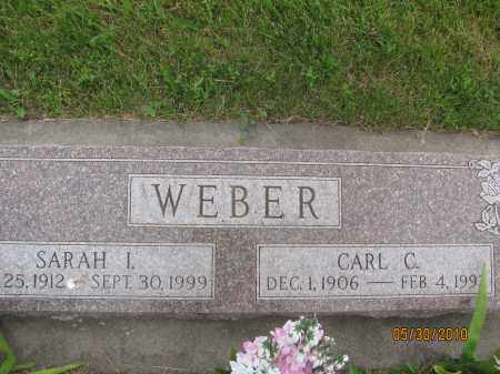 WEBER, CARL C. - Saline County, Nebraska | CARL C. WEBER - Nebraska Gravestone Photos
