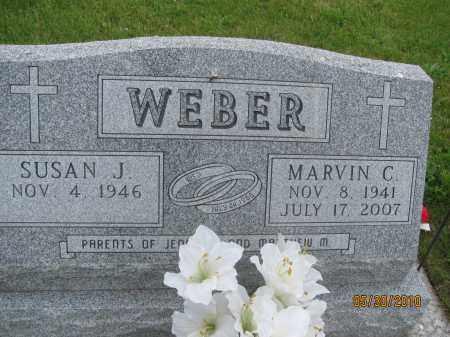 WEBER, SUSAN J. - Saline County, Nebraska | SUSAN J. WEBER - Nebraska Gravestone Photos
