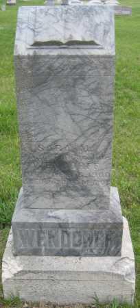WENDORFF, SARA M. - Saline County, Nebraska | SARA M. WENDORFF - Nebraska Gravestone Photos