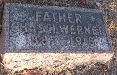 WERNER, CHARLES H. - Saline County, Nebraska   CHARLES H. WERNER - Nebraska Gravestone Photos