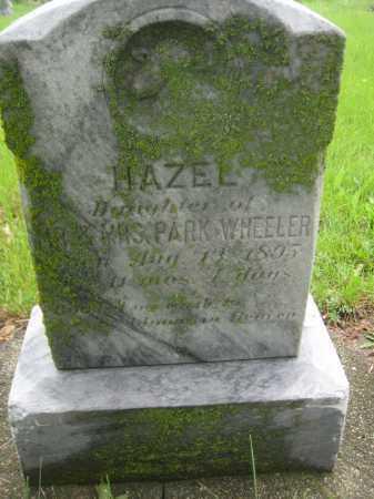 WHEELER, HAZEL - Saline County, Nebraska | HAZEL WHEELER - Nebraska Gravestone Photos