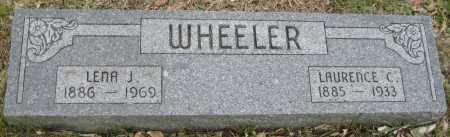 WHEELER, LENA J. - Saline County, Nebraska | LENA J. WHEELER - Nebraska Gravestone Photos