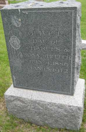WHEELER, OLIVE E. - Saline County, Nebraska | OLIVE E. WHEELER - Nebraska Gravestone Photos