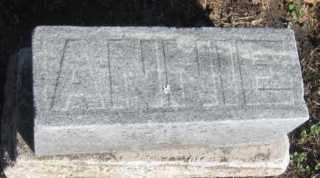 WHITCOMB, ANNIE - Saline County, Nebraska | ANNIE WHITCOMB - Nebraska Gravestone Photos
