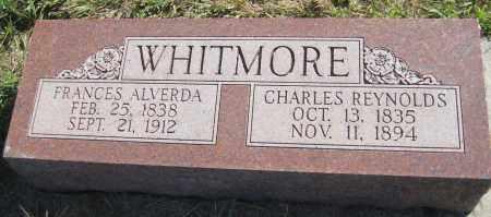 WHITMORE, FRANCES ALVERDA - Saline County, Nebraska | FRANCES ALVERDA WHITMORE - Nebraska Gravestone Photos