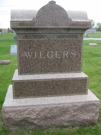 WIEGERS, FAMILY MONUMENT - Saline County, Nebraska | FAMILY MONUMENT WIEGERS - Nebraska Gravestone Photos