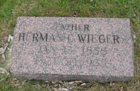 WIEGERS, HERMAN C. - Saline County, Nebraska | HERMAN C. WIEGERS - Nebraska Gravestone Photos