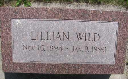 WILD, LILLIAN - Saline County, Nebraska | LILLIAN WILD - Nebraska Gravestone Photos