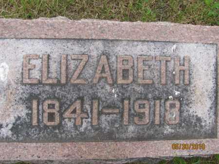 HENDRIX WILHELM, ELIZABETH - Saline County, Nebraska | ELIZABETH HENDRIX WILHELM - Nebraska Gravestone Photos